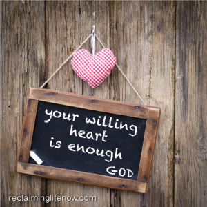 YOUR WILLING HEART